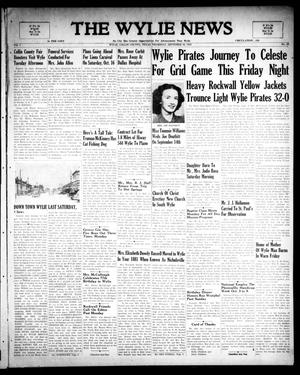 Primary view of object titled 'The Wylie News (Wylie, Tex.), Vol. 1, No. 29, Ed. 1 Thursday, September 30, 1948'.