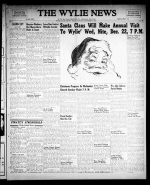 The Wylie News (Wylie, Tex.), Vol. 1, No. 40, Ed. 1 Thursday, December 16, 1948
