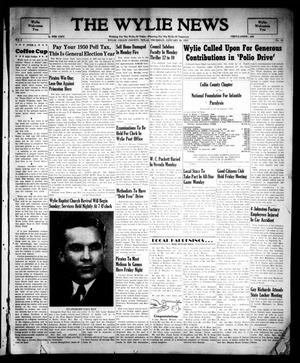 The Wylie News (Wylie, Tex.), Vol. 2, No. 45, Ed. 1 Thursday, January 26, 1950