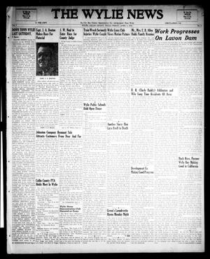 Primary view of object titled 'The Wylie News (Wylie, Tex.), Vol. 1, No. 4, Ed. 1 Friday, April 9, 1948'.