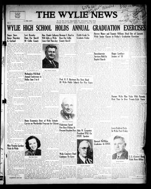 The Wylie News (Wylie, Tex.), Vol. 1, No. 10, Ed. 1 Thursday, May 20, 1948