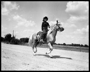 Primary view of object titled 'Dr. Clark and Horsewoman'.
