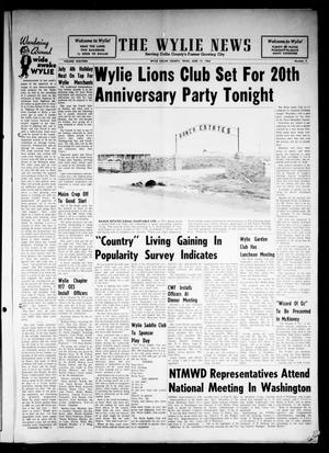 Primary view of object titled 'The Wylie News (Wylie, Tex.), Vol. 18, No. 5, Ed. 1 Thursday, June 17, 1965'.