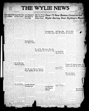 The Wylie News (Wylie, Tex.), Vol. 1, No. [7], Ed. 1 Thursday, May 6, 1948