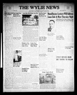 Primary view of object titled 'The Wylie News (Wylie, Tex.), Vol. 1, No. 21, Ed. 1 Thursday, August 5, 1948'.