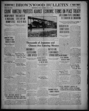 Primary view of object titled 'Brownwood Bulletin (Brownwood, Tex.), No. 175, Ed. 1 Thursday, May 15, 1919'.
