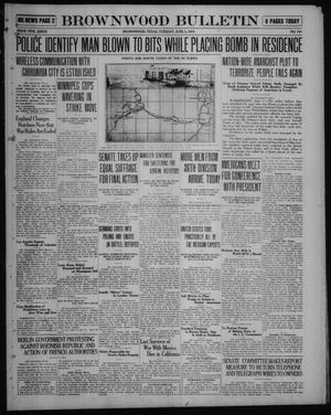 Primary view of object titled 'Brownwood Bulletin (Brownwood, Tex.), No. 191, Ed. 1 Tuesday, June 3, 1919'.