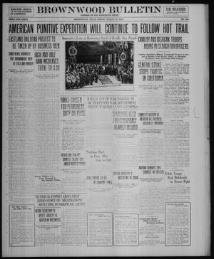 Primary view of object titled 'Brownwood Bulletin (Brownwood, Tex.), No. 259, Ed. 1 Friday, August 22, 1919'.