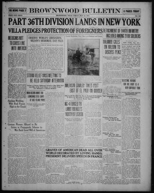 Brownwood Bulletin (Brownwood, Tex.), No. 188, Ed. 1 Friday, May 30, 1919