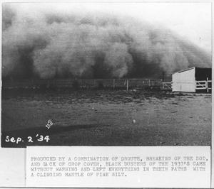 Primary view of object titled '[Dust Storms and Black Dusters]'.
