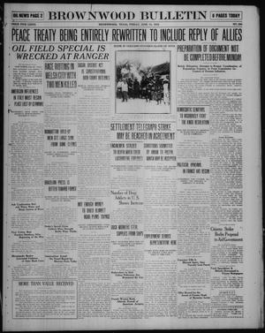 Primary view of object titled 'Brownwood Bulletin (Brownwood, Tex.), No. 200, Ed. 1 Friday, June 13, 1919'.