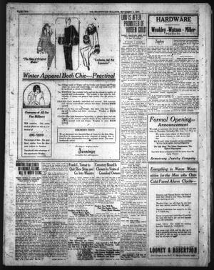 Primary view of object titled 'Brownwood Bulletin (Brownwood, Tex.), Ed. 1 Saturday, November 3, 1923'.