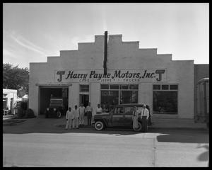 Primary view of object titled 'Harry Payne Motors'.