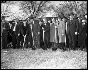 Primary view of object titled 'Lamar Bridge Dedication - Its Initial Opening'.