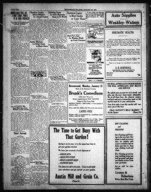 Primary view of object titled 'Brownwood Bulletin (Brownwood, Tex.), Ed. 1 Saturday, January 29, 1921'.