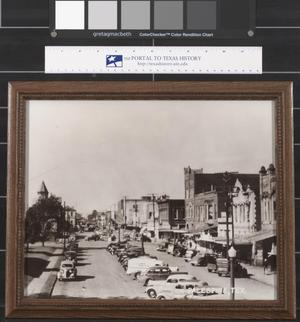 Primary view of object titled '[Spring Street - Palestine]'.