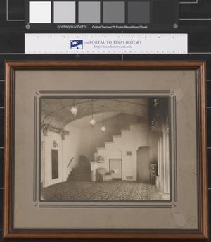 Primary view of object titled '[Interior of the Texas Theater - Palestine, Texas]'.