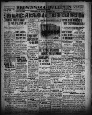 Primary view of Brownwood Bulletin (Brownwood, Tex.), Vol. 20, No. 288, Ed. 1 Tuesday, September 21, 1920