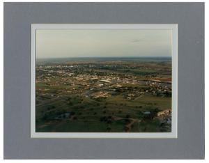Primary view of object titled 'Aerial Photo of Childress'.