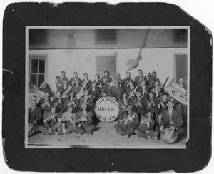 Primary view of object titled 'Childress Concert Band, c. 1906'.
