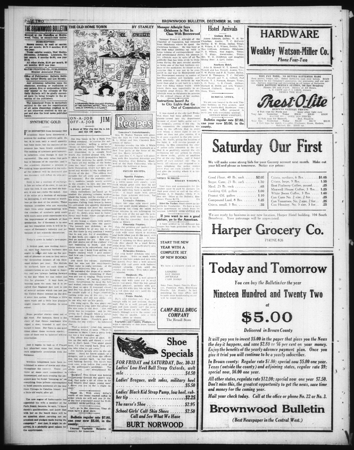 Obituaries Archives - Brownwood News