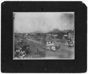 Primary view of object titled 'Old Settlers Parade'.