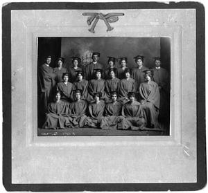 Primary view of object titled 'Childress High School Graduating Class of 1914'.