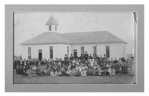 Primary view of object titled 'Childress' First School House'.