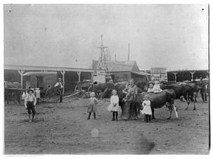 Primary view of object titled 'Czewski Family Wagon Yards and Dairy'.