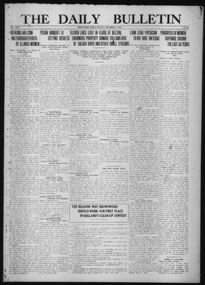 Primary view of object titled 'The Daily Bulletin (Brownwood, Tex.), Vol. 13, No. 28, Ed. 1 Tuesday, December 2, 1913'.
