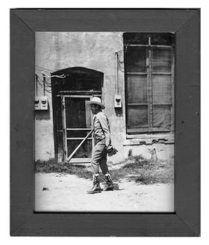 Primary view of object titled 'Gene Autry in Childress, Texas'.