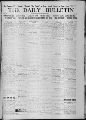 Primary view of object titled 'The Daily Bulletin (Brownwood, Tex.), Vol. 13, No. 113, Ed. 1 Thursday, March 12, 1914'.