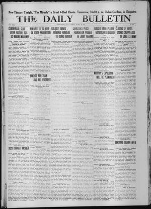 Primary view of object titled 'The Daily Bulletin (Brownwood, Tex.), Vol. 13, No. 114, Ed. 1 Friday, March 13, 1914'.