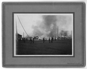 Primary view of object titled '[Lumber Yard Fire 1917]'.