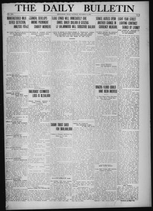 Primary view of object titled 'The Daily Bulletin (Brownwood, Tex.), Vol. 13, No. 42, Ed. 1 Thursday, December 18, 1913'.