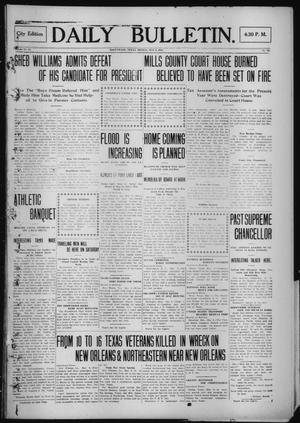 Primary view of object titled 'Daily Bulletin. (Brownwood, Tex.), Vol. 12, No. 167, Ed. 1 Monday, May 6, 1912'.