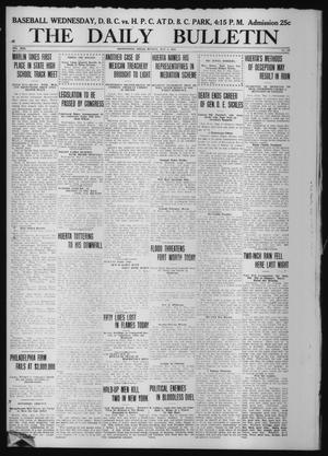 Primary view of object titled 'The Daily Bulletin (Brownwood, Tex.), Vol. 13, No. 158, Ed. 1 Monday, May 4, 1914'.