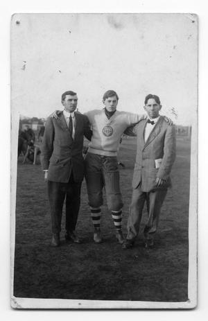 Primary view of object titled '[Childress High School Football Coaches and Manager]'.