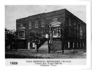 Primary view of object titled '[King Memorial Methodist Church]'.