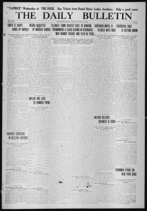 Primary view of object titled 'The Daily Bulletin (Brownwood, Tex.), Vol. 13, No. 68, Ed. 1 Monday, January 19, 1914'.