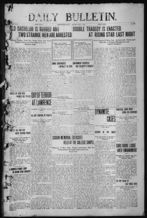 Primary view of object titled 'Daily Bulletin. (Brownwood, Tex.), Vol. 12, No. 292, Ed. 1 Tuesday, October 1, 1912'.