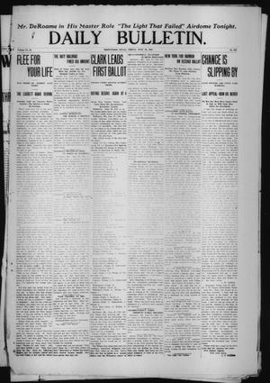 Primary view of object titled 'Daily Bulletin. (Brownwood, Tex.), Vol. 12, No. 213, Ed. 1 Friday, June 28, 1912'.