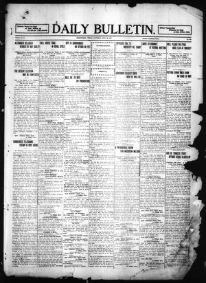 Primary view of object titled 'Daily Bulletin. (Brownwood, Tex.), Vol. 11, No. 242, Ed. 1 Saturday, July 29, 1911'.