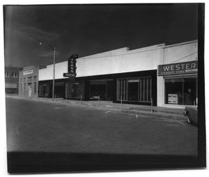 Primary view of object titled '[John's Furniture Store in Childress, Texas]'.