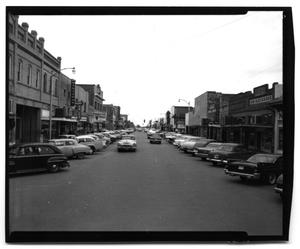 Primary view of object titled '[Main Street 1950's]'.