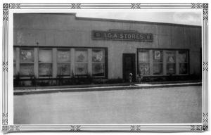 Primary view of object titled '[I.G.A. Store]'.