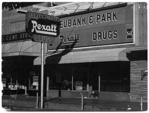 Primary view of object titled '[Eubank & Park Drugs]'.
