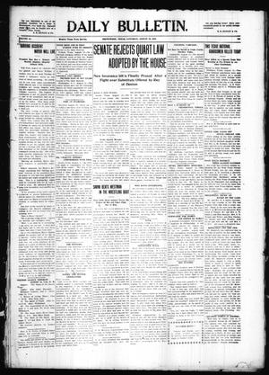 Primary view of object titled 'Daily Bulletin. (Brownwood, Tex.), Vol. 10, No. 255, Ed. 1 Friday, August 12, 1910'.