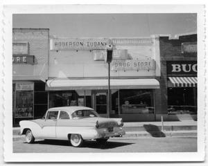 Primary view of object titled '[Robertson-Eubank Drug Store 1958]'.