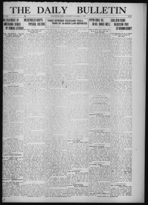 Primary view of object titled 'The Daily Bulletin (Brownwood, Tex.), Vol. 13, No. 41, Ed. 1 Wednesday, December 17, 1913'.